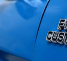 1977 Ford F 150 Custom Name Plate Sticker