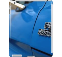 1977 Ford F 150 Custom Name Plate iPad Case/Skin