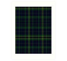 02910 Eynon of Wales Fashion Tartan  Art Print