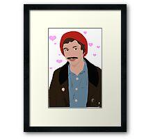 Cartoon Cera (hearts) Framed Print