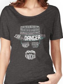 I´m the who knocks - Breaking Bad Walter White Design Women's Relaxed Fit T-Shirt