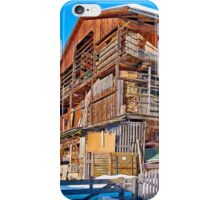 Austria - farmhouse in Tirol iPhone Case/Skin