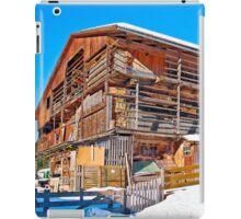 Austria - farmhouse in Tirol iPad Case/Skin