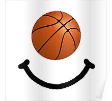Basketball Smile Poster