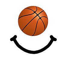 Basketball Smile Photographic Print