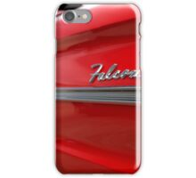 1963 Ford Falcon Name Plate iPhone Case/Skin