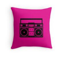 Party Icon - Music Throw Pillow