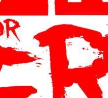 PR or ER Sticker