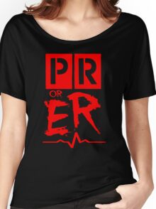 PR or ER Women's Relaxed Fit T-Shirt
