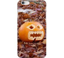 Pumpkin and Beech Leaves iPhone Case/Skin