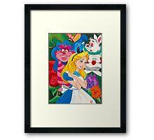 World Of My Own Framed Print