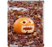 Pumpkin and Beech Leaves iPad Case/Skin