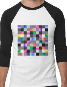 Mondrian Couture Men's Baseball ¾ T-Shirt