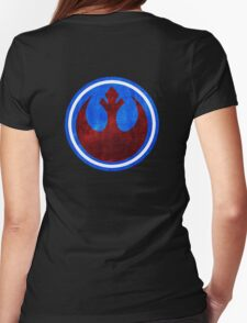 Rebel Alliance Insignia Womens Fitted T-Shirt