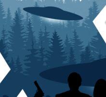 Alien Intervention Sticker