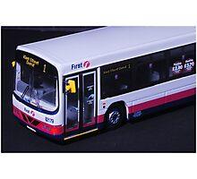 First Bus - Aberdeen Scotland Photographic Print