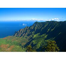 Kalalau Valley Photographic Print