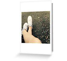 Confetti adidas Greeting Card