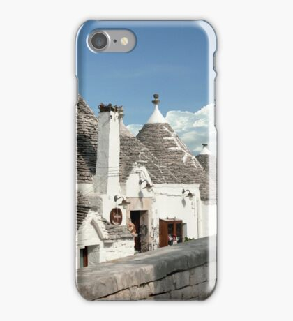 People Who Live In Stone Houses.... iPhone Case/Skin