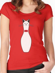 Alley Cat Women's Fitted Scoop T-Shirt