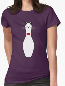 Alley Cat Womens Fitted T-Shirt
