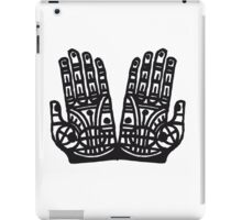 protection hands t-shirt iPad Case/Skin