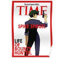 Spike - Cowboy Bebop Poster