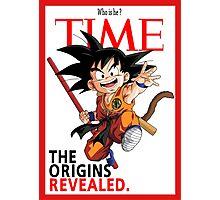 Dragon ball - Goku Photographic Print