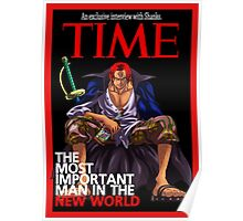 One Piece - Shanks Poster