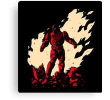Super Armor Red Canvas Print