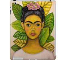 frida young and sad iPad Case/Skin
