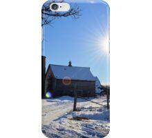 Birch Avenue Sun 2 iPhone Case/Skin