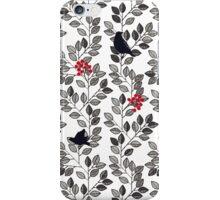 Birds and Berries iPhone Case/Skin