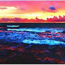 Scenic Shoreline Sunrise by Phil Perkins