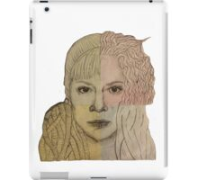 Four Clones from Orphan Black iPad Case/Skin