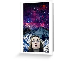 Looking for your galaxy Greeting Card