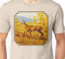 Whitetail Deer in Aspen Woods Unisex T-Shirt