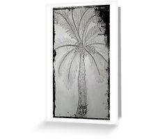 palmiye Greeting Card