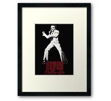 Elvis Allan Poe Jumpsuit Framed Print