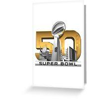 Super Bowl 50 Greeting Card