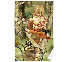SNK: Female Titan In The Trees Poster