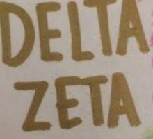 Delta Zeta Sticker Sticker