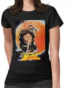 A Clockwork Orange French Poster Womens Fitted T-Shirt