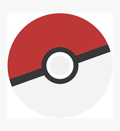 Pokéball Photographic Print