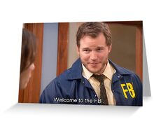 Parks and Recreation  Greeting Card