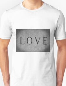 Love In Black And White T-Shirt