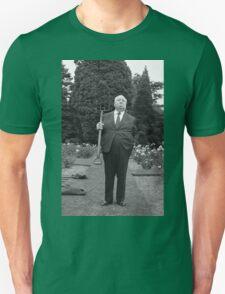 Alfred Hitchcock Pitchfork T-Shirt