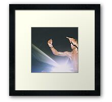 Travis Scott Middle Finger Framed Print