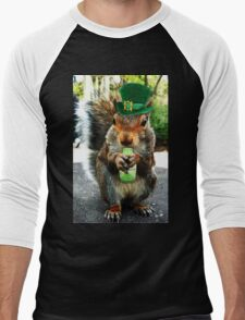 drunk squirrel Men's Baseball ¾ T-Shirt