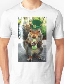 drunk squirrel Unisex T-Shirt
